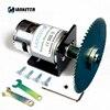 Dobule Bearings 775 Motor DC24V 10000RPM 4 100mm Circular Saw Blade For Cutting Engraving Disc Mini