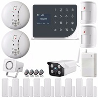 SmartYIBA WIFI GSM Burglar Alarm System Home Protection Automation Wireless Wired GPRS GSM SMS Alarm System Outdoor IP Camera