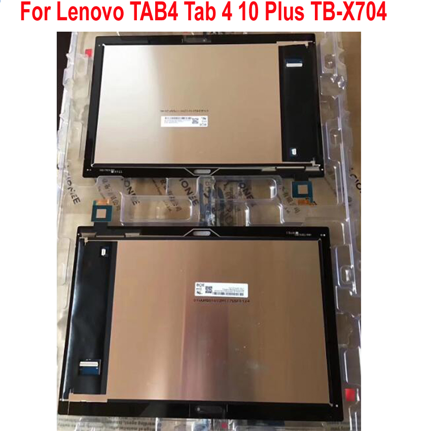 Best Working 10 1 LCD Display Touch Screen Panel Digitizer Assembly Sensor For Lenovo Tab 4