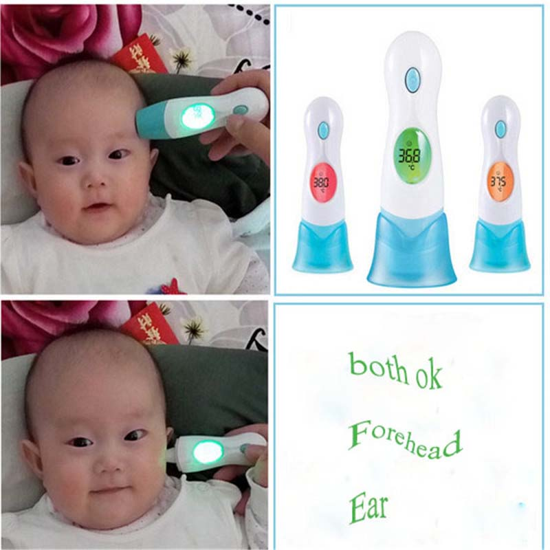 Multi-functional Smart Child Adult Medical Fever Body Electronic Baby Forehead Ear Infrared Thermometer Digital Lcd Product Baby Care