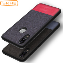 SRHE For Lenovo S5 Pro Case Cover Vintage Cloth Fabric Soft Silicone Full Back S5Pro 6.2 inch