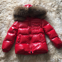 boys kids winter jacket coat outerwear winter style boys and girls warm cartoon coat clothes Duck