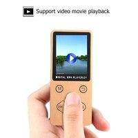 fm tf T1 MP4 MP3 Player Mini USB Clip 1.8