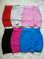 6 Colours Wholesale Factory Price Ladies Sexy Mini Skirt HL Bandage Fashion Skirt High Quality