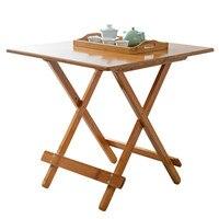 Складной стол для кемпинга Портативный Бамбуковый складной стол для пикника пляжная уличная мебель кемпинг столы экологически чистый стол