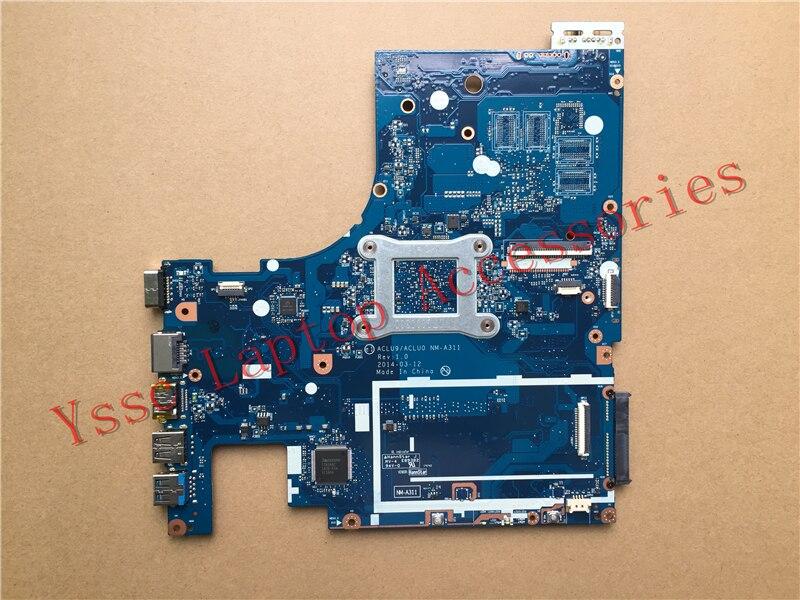 Бесплатная доставка Фирменная Новинка! Aclu9/aclu0 nm-a311 для Lenovo g50 g50-30 материнская плата (для Intel n2830 Процессор) Гарантия: 90 дней