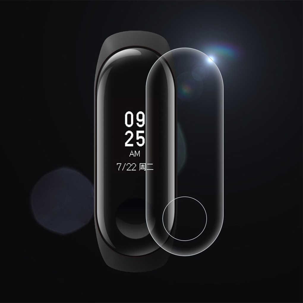 5 stks/partij voor Xiao mi mi band 3 Screen protector Hd Smart POLSBAND Armband Anti-Kras tpu beschermende FILM