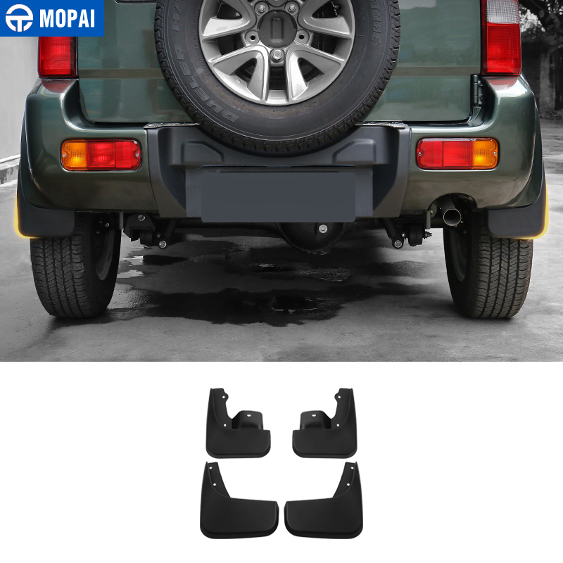 MOPAI Mudguards for Suzuki Jimny 2007-2017 Mud Guards ABS Car Exterior Protect Decoration Splash Flaps Fenders Car Accessories