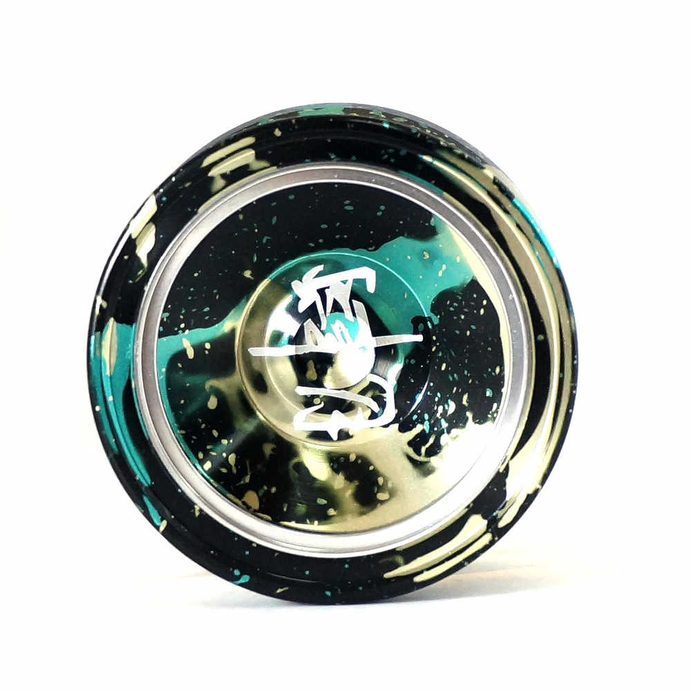Magic YoYo M002 April Professional Gaming Metal Aluminum Yoyos 1A 3A 5A Butterfly for Bo ...