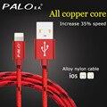 Cabo de iluminação rápida adaptador de carregador cabo usb original para iphone 6 s além disso i6 i5 iphone 5 5s ipad air 2 cabos de telefone móvel