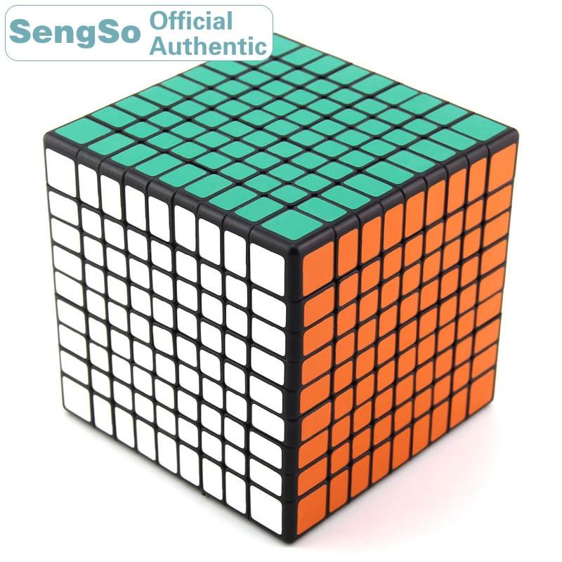 ShengShou 9x9x9 Cube magique 9x9 Cubo Magico professionnel néo vitesse Cube Puzzle Antistress Fidget jouets pour enfants