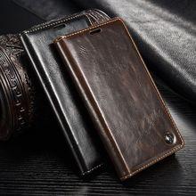 Caseme кожа телефон случаях спс huawei p10 case для huawei p10 lite case коке fundas магнитных флип бумажник защитная крышка