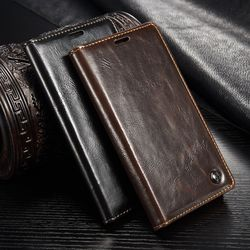 CaseMe Leather Phone Cases sFor Fundas Huawei P10 case For Huawei P10 Lite case Coque Magnetic Flip Wallet Protective Cover