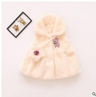 New-Arrival-Baby-Snow-Wear-Girls-Baby-Clothing-0-2T-White-Pink-Cute-Bow-Pattern-Winter-Outerwear-Waistcoats-2016-Vogue-4