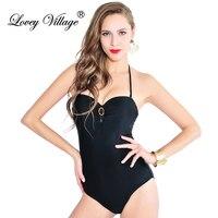 One Piece Swimsuit Push Up 2017 Swimwear Women Monokini Pin Up Bodysuit Plus Size Beach Wear