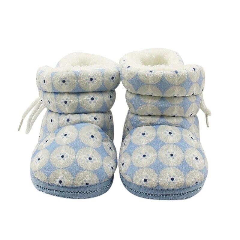 Warm Baby Boots Zachte Zolen Crib Schoenen  Fashion Peuters Snowboots Sneakers