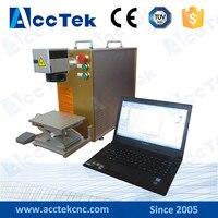 AK10F Портативный 20 Вт 30 Вт ювелирные изделия золото серебро листового металла 1 мм золото лазерной резки из Китая