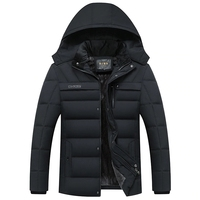 2018 Hot Fashion Hooded Winter Coat Men Thick Warm Mens Winter Jacket Parka