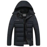 2018 Hot Fashion Hooded Winter Coat Men Thick Warm Mens Winter Jacket Parka
