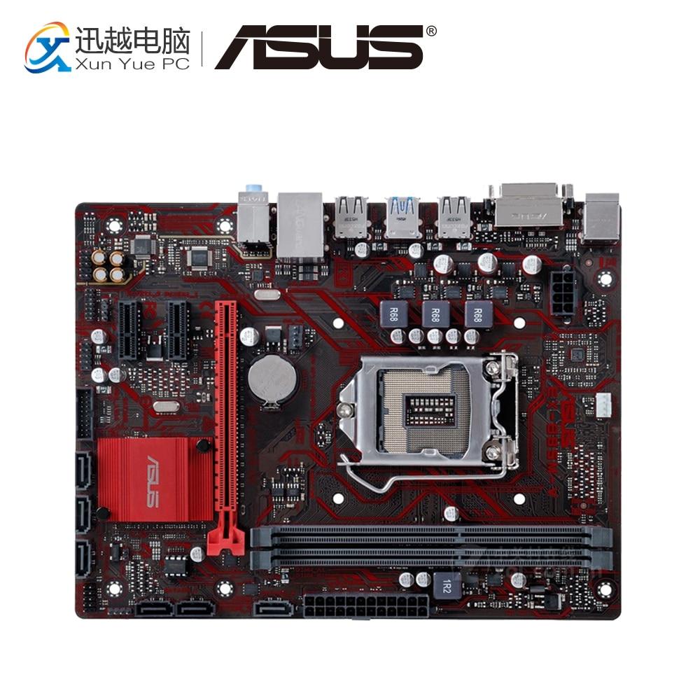 Asus EX-B85M-V Desktop Motherboard B85 Socket LGA 1150 i7 i5 i3 DDR3 16G SATA3 USB3.0 Micro-ATX asus b85m v5 plus desktop motherboard b85 socket lga 1150 i7 i5 i3 ddr3 16g sata3 micro atx