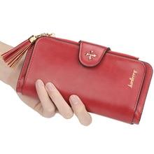 купить Brand Leather Women Wallets High Quality Designer Zipper Long Wallet Women Card Holder Ladies Purse Money Bag Carteira Feminina по цене 258.71 рублей
