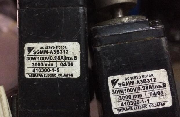 Servo motor  SGMM-A3B312  , Used one , 90% appearance new , 3 months warranty  , in stock Servo motor  SGMM-A3B312  , Used one , 90% appearance new , 3 months warranty  , in stock
