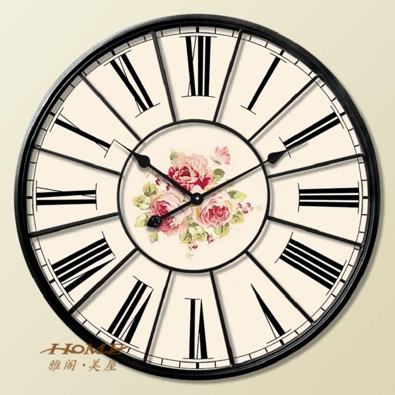 60cm large wall clock saat clock reloj duvar saati digital - Horloge murale 60 cm ...