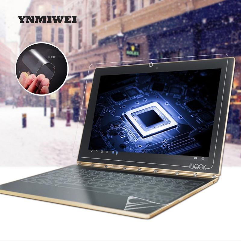Мягкая нано-полиэтиленовая пленка HD для Lenovo Yoga Book, 2 шт./компл., 10,1 дюйма, прозрачная защитная пленка для экрана и клавиатуры, не стекло, YNMIWEI