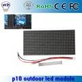 320 * 160 mm 32 * 16 RGB 3in1 módulo P10 ao ar livre cor 1/2 de verificação de alta qualidade P10 ao ar livre LED