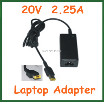10pcs AC/DC Adapter 20V 2.25A 45W USB pin Power Supply Adapter ADLX45NLC3 36200246 45N0293 45N0294 for Lenovo Yoga 11 Yoga 11S