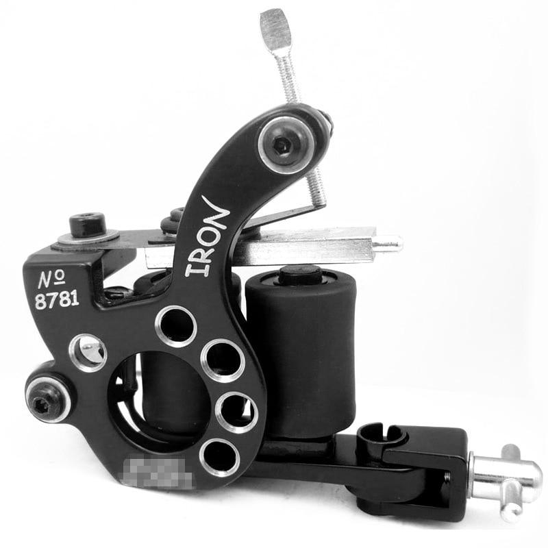 Professional Hot Sale High Quality 10 Warp Coil Tattoo Machine For Shader&Liner Tattoo Machine Gun Free Shipping