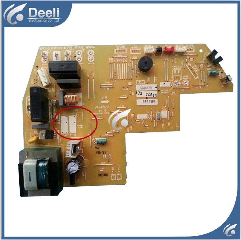 95% new Original for Panasonic air conditioning Computer board A746126 A73C4643 circuit board original for tcl air conditioning computer board used board