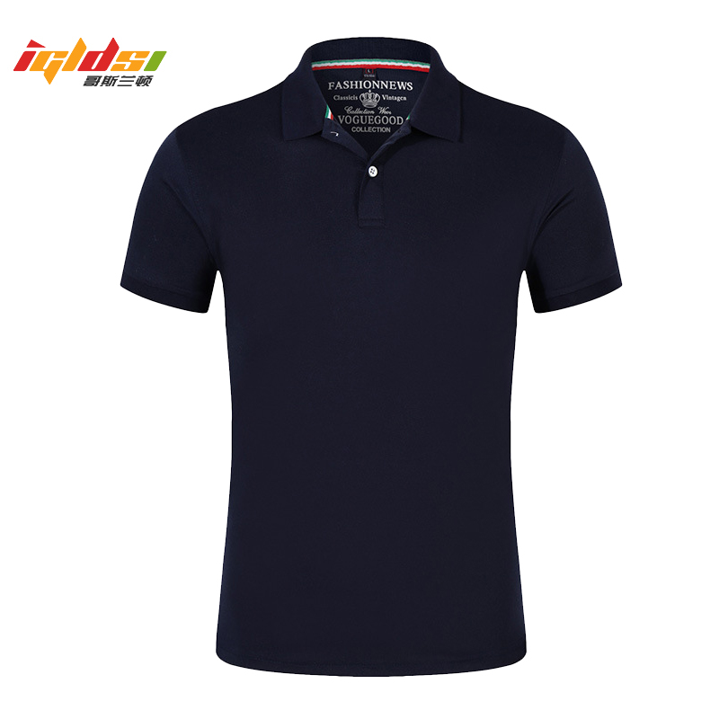 Men   Polo   Shirt New 2019 Summer Fashion Solid Cotton Short Sleeve Tops For Man Slim Breathable   Polo   Shirts Plus Size 4XL