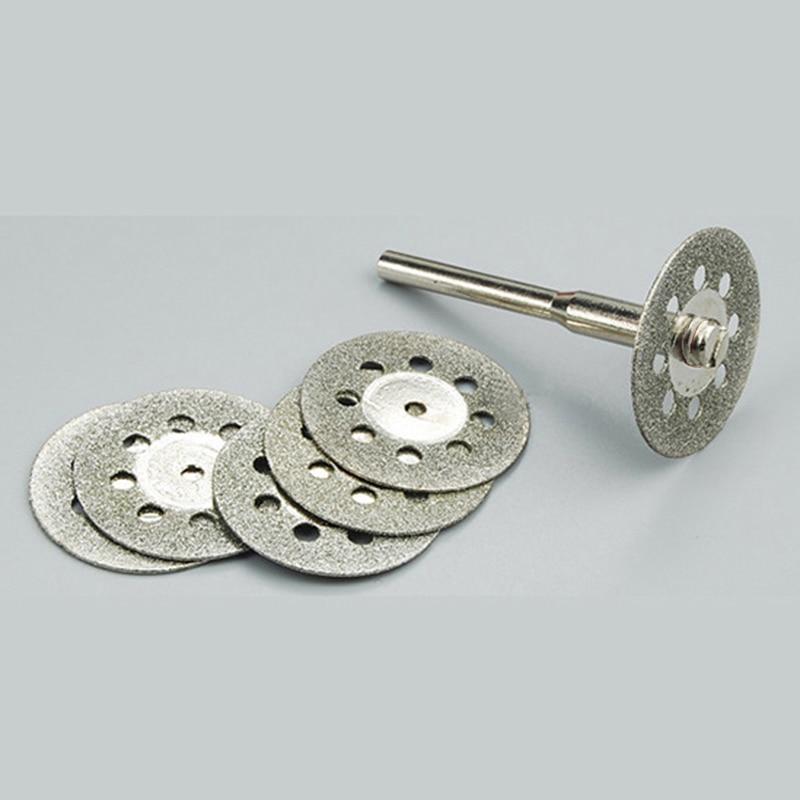 5 pc 22mm diamant disque de coupe de roue Dremel Rotary Tool - Outils abrasifs - Photo 2