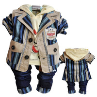 Anlencool Free shipping 2019 Attitude baby boy Valley Korean version of the leisure suit width boy's clothing set baby clothing
