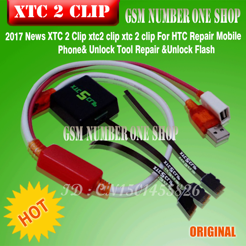 Newest XTC 2 Clip xtc2 clip xtc 2 clip For HTC Repair Mobile Phone& Unlock Tool Repair &Unlock Flash free shipping