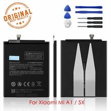 Batería Original BN31 para Xiaomi Mi A1, batería de carga para Xiaomi Mi 5X 3000mAh, reemplazo de polímero de litio de alta capacidad
