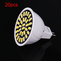20pcs LED Lamp Lampada GU10 E27 MR16 Bombillas Led Bulbs SMD5733 220V Ampoule LED Spotlight Candle