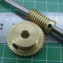 0.5 mold 50Teeths worm gear high speed reduction ratio of 1:50-Remote control to