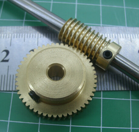 0 5 mold 50Teeths worm gear high speed reduction ratio of 1 50