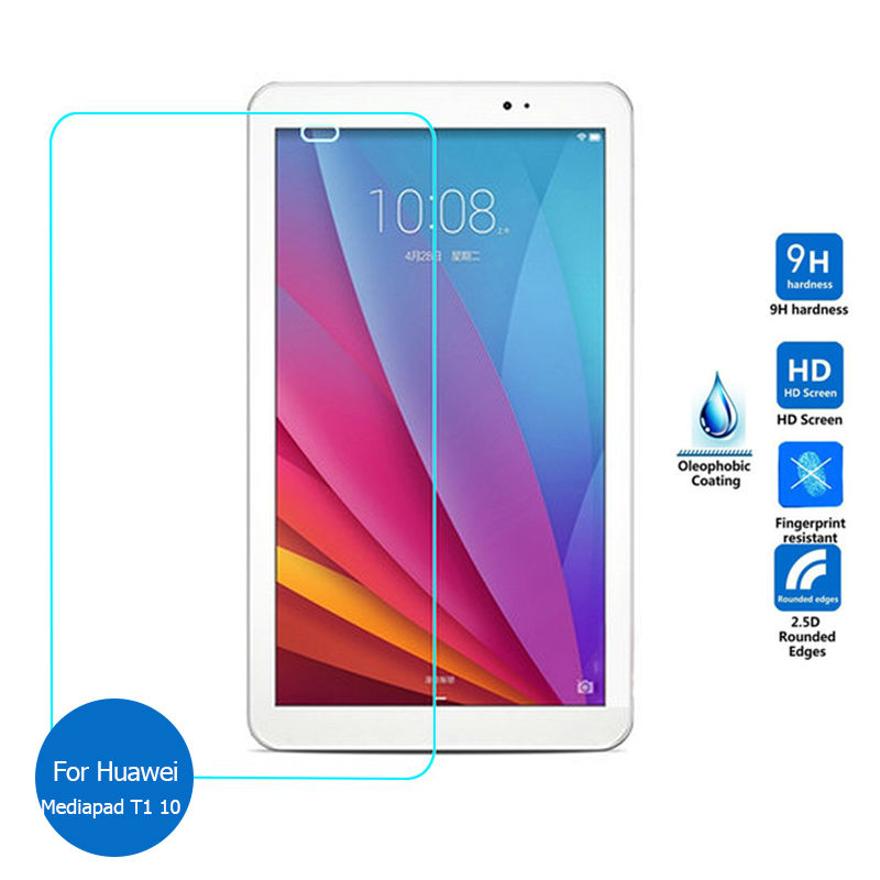 """Premium Tempered Glass Screen Protector For Huawei Mediapad T1 10 T1-A21w 9.6/"""""""