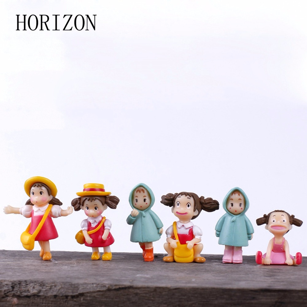 Miniature crystal ornaments - 5pcs Set Fairy Garden Miniatures Mini Cute Resin Craft Ornament Miniature For Christmas Home Wedding