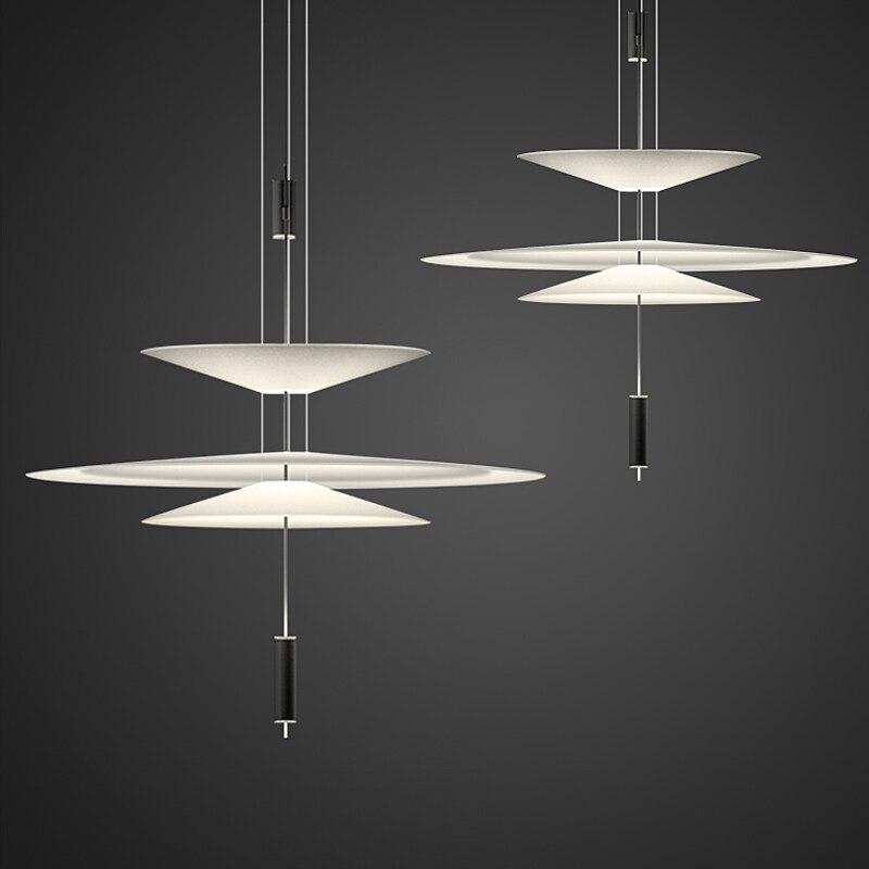Flamant nordique Lustre éclairage moderne Led suspension lampe salon Lustre salle à manger cuisine décor à la maison luminaires