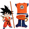 Dragonball Dragon Ball Z Kids Son Goku Master Roshi Shirts Pants Jacket Cosplay Costume Halloween Kongfu