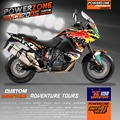 Custom Graphics Backgrounds  Decals 3M Stickers Kits RB Style For KTM ADV 1190 Adventure 1190 Customized Graphics Free Shipping