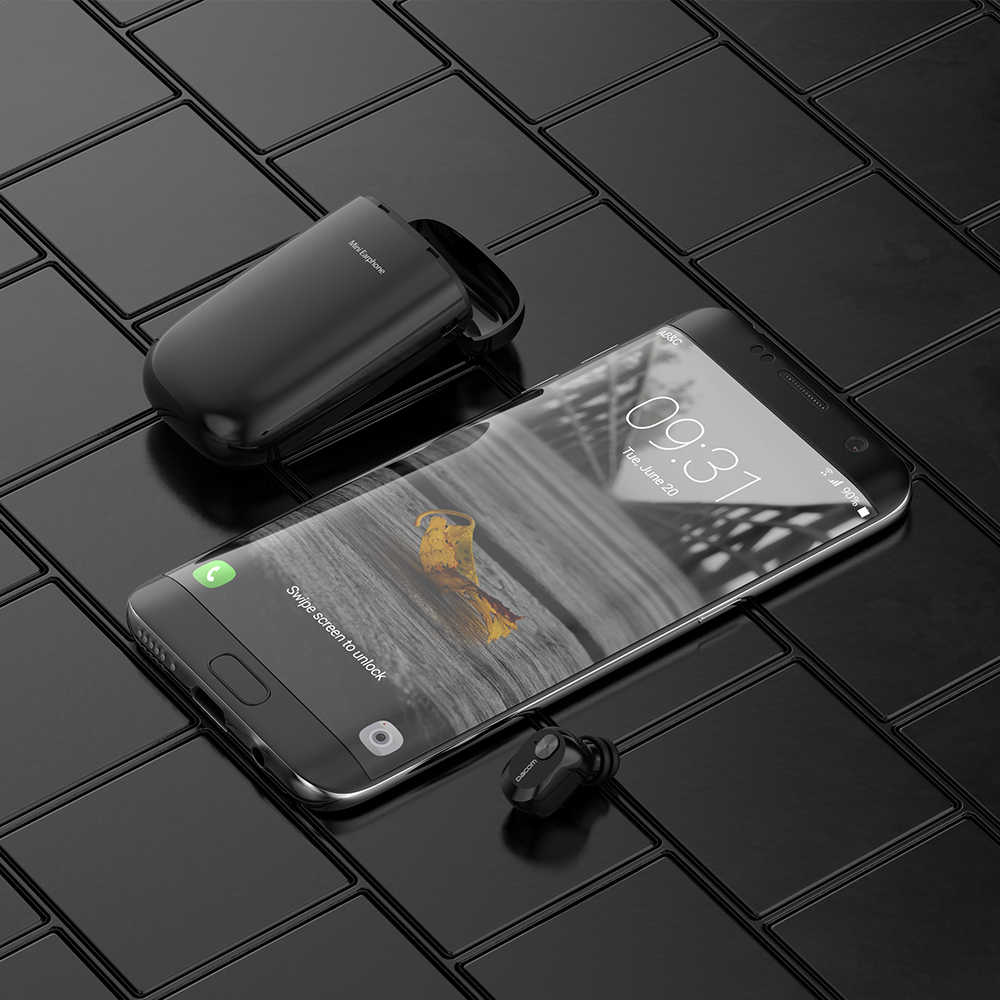Dacom K6E Моно Беспроводные Наушники-вкладыши Скрытые Невидимые Наушники Микро Мини Беспроводная Гарнитура Bluetooth Наушники Наушники для Телефона