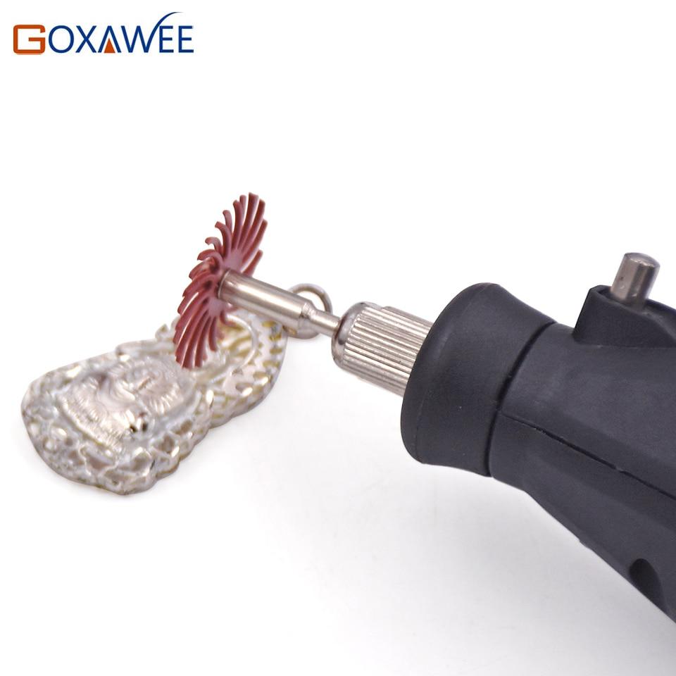 GOXAWEE 10pcs Cepillo abrasivo Herramientas rotativas para accesorios - Herramientas abrasivas - foto 6