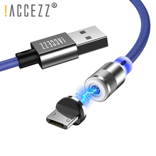 !ACCEZZ Magnetic Usb Charging Cable For IPhone 8 X XR XS MAX Micro USB Type C Magnet Charge For Samsung Huawei LG Charger Cables accezz magnetic usb charging cable for iphone x xr xs max micro usb type c magnet charge for samsung s10 s9 fast charger cables