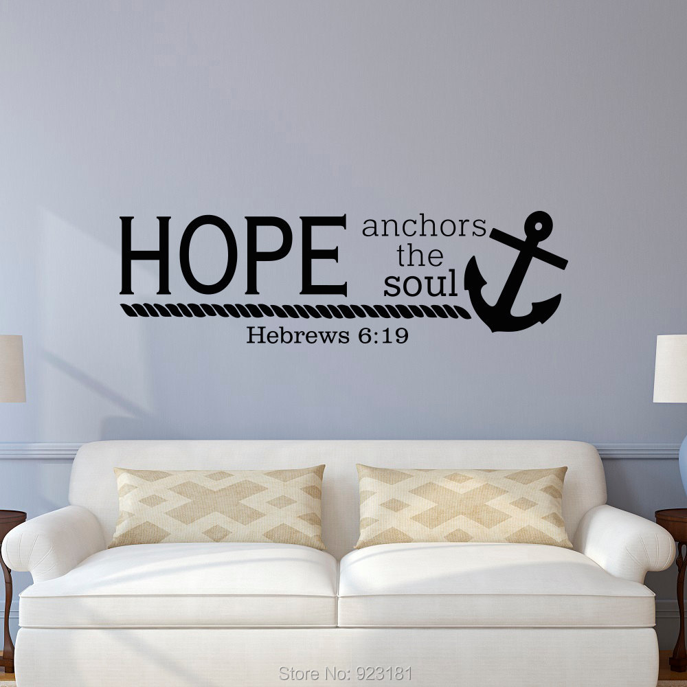 Scripture Wall Decals Trust In The Lord Proverbs 3 5 6 Vinyl