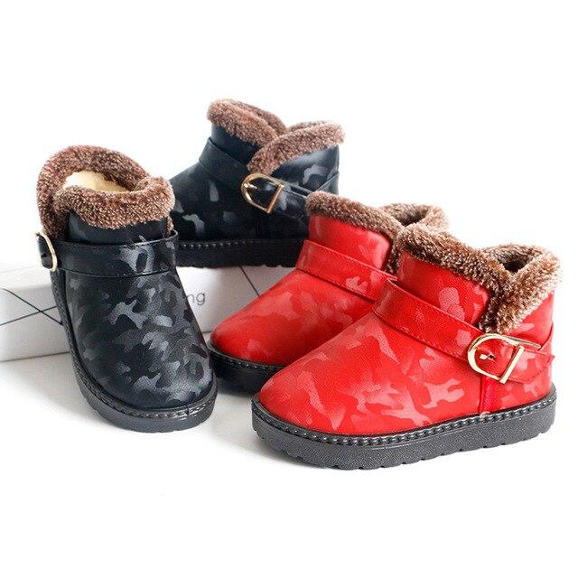 Enfants Chaussures Bébé filles Mode Chaussures épaissies Bottes YUpg8lw